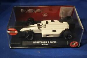 NEW NSR FORMULA F1 86/89 TEST CAR WHITE NSR0118IL NEW BOXED