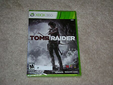 TOMB RAIDER...XBOX 360...**BLACK LABEL**SEALED**BRAND NEW**!!!!!