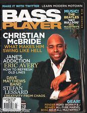 BASS PLAYER Magazine Vintage back issue September 2009 Janes Addiction Eric