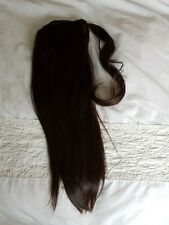 NATURAL Cinderella Ponytail Clip In Hair Extension Wrap Around Hairpiece Rrp£60