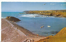Cornwall Postcard - The Beaches and Coastline from Breakwater - Bude    DR528