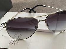 100% Original CHANEL Aviator Sunglasses Damen Sonnenbrille Pilotensonnenbrille
