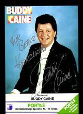 Buddy Caine Autogrammkarte Original Signiert # BC 118339