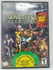 Gauntlet: Dark Legacy (Nintendo GameCube, 2002) Near Mint Disk Tested No Manual