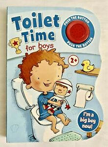 Toilet Time for Boys Sound Board Book Hinkley Books