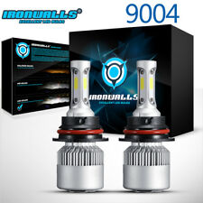 CREE 9004 HB1 LED Headlight Kit 1080W 162000LM Hi-Low Beam 6500K Car Light Bulbs