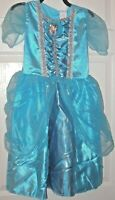 Disney Princess Cinderella dress costume size M 7-8 dress up girls Disney new