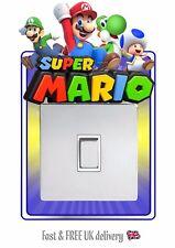SUPER MARIO STICKER LIGHT SWITCH SURROUND WALL STICKER DECAL