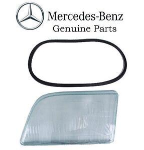 For Mercedes S320 S350 S420 S600 Driver Left Headlight Lens Genuine 1408207966
