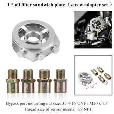 Oil Cooler Filter Sandwich Plate Adapter Tool AN10 M20x1.5/22/1.5/M18x1.5/3/4-16