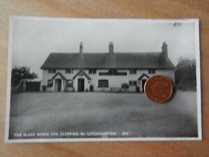 Vintage RP Postcard  Black Horse Inn  Clymping 8910 W Sussex