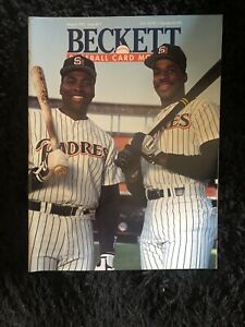Beckett Baseball Card Monthly Price Guide - August, 1991 - TONY GWYNN / MCGRIFF