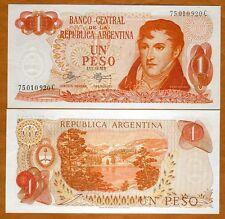 Argentina, 1 Peso, ND (1970), Pick 287 UNC