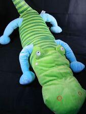 "IKEA Barnslig Krokodil Alligator Crocodile Plush Pillow Pet 39"" Ex. Condition"