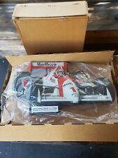 "New Vintage Marlboro Penske Light Up Sign Indy Car Philip Morris Racing 30""& Box"