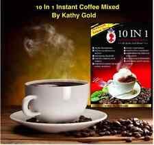 Slim Mate Sugar Free Instant Coffee Mix Plus collagen Diet Hight Fiber Slim Fit