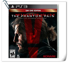 PS3 Metal Gear Solid V: The Phantom Pain MGS SONY PLAYSTATION Game Konami Action