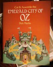 1980 Cut & Assemble Emerald City of Oz By Dick Martin