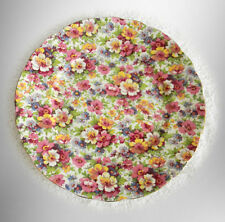 James Kent chintz plate in Du Barry pattern - FREE SHIPPING