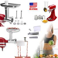 Meat Grinder/Slicer Shredder/Juice Attachment For Kitchenaid Stand Mixer Reamer