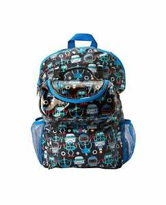 Nuby Boys & Girls 2 in 1 School Lunch Zip Bag / Nursery Travel Backpack for Kids