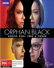 Orphan Black The Complete Season 1, 2 & 3 Blu ray box set RB new sealed