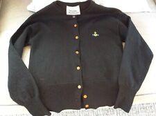 Vivienne Westwood Black Wool Cardigan