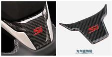 Carbon Fiber Steering Wheel Trim Sticker For Si 2016+ Honda Civic (10th Gen) H02
