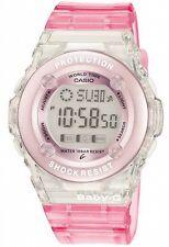 Reloj Digital Casio BG1302-4ER Baby-G ROSA Alarma, Fecha Y Resistente Al Agua Damas