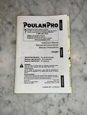 Poulan Pro Blower PR46BT Gas Powered Instruction Operators Manual Used Guide