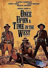 Once Upon a Time in the West (Dvd, 2017) Charles Bronson Henry Fonda New