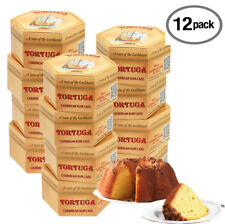 Tortuga Original Rum Cake Mix 4 oz 12 PACK Cakes for Delivery Birthday Cake