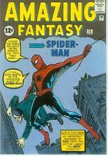Marvel Comics Postcard: Amazing Fantasy # 15 cover (Steve Ditko) (USA, 1991)