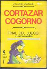 Julio Cortazar Book Final Del Juego Cogorno Illustrations 1971