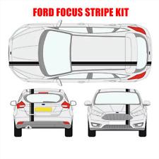Vehículo Ford Focus Rayas Pegatina Calcomanía Sport Racing