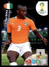 Panini Brazil 2014 Adrenalyn XL Arthur Boka Ivory Coast Base card