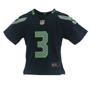 Seattle Seahawks Russell Wilson NFL Nike Baby Infant Toddler & Kids Size Jersey