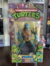 "TMNT Animated Series Playmates Classic Collection LEONARDO 6"" Action Figure!"