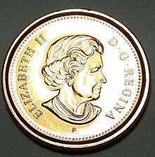 2003 P New Effigy Steel CANADA 1 Cent Uncirculated Magnetic Penny UNC
