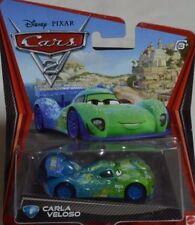 Disney Pixar Cars 2 Die Cast Car Carla Veloso Diecast Toy Vehicle V2811
