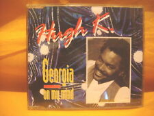 MAXI Single CD HUGH K. Georgia On My Mind 5TR 1992 eurodance