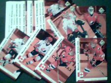 '98 WORLD JUNIOR HOCKEY CHAMPIONSHIP TEAM CANADA SET (22-CARD SET)