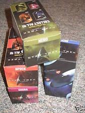 2009 Burger King Star Trek Glasses Full Set of 4 PROMO Uhura Kirk Spock Nero