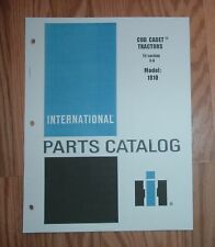 CUB CADET 1810 TRACTOR &  ENGINE ILLUSTRATED PART LIST