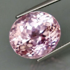 15.08 Ct Flawless Huge Natural Oval Pastel Pink Patroke Kunzite