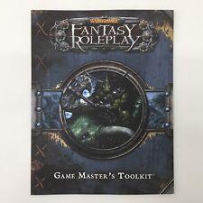 Warhammer Fantasy Gaceta Juegos Kit de herramientas de Master Softback Fantasy Flight Games
