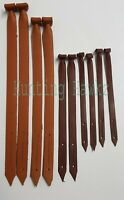 Falconry Mew Jesses, High Quality Leather Mew Jesses, Cow Hide 5 Sizes