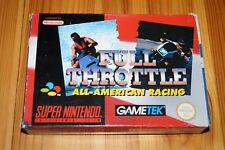 Full Throttle Super Nintendo Pal Eur Complet