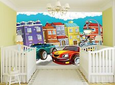 Small Cars Wall Mural Photo Wallpaper GIANT DECOR Paper Poster Free Paste