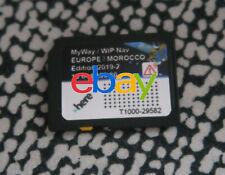 Carte SD EUROPE GPS RNEG 2019-2 Peugeot RCZ Expert 207 308 407 807 3008 5008